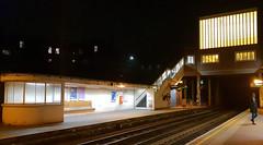 West Acton (R~P~M) Tags: train railway station londonunderground westacton centralline night acton london england uk unitedkingdom greatbritain
