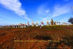 """86Deaths_01 (DonBantumPhotography.com) Tags: landscapes paradise paradisecaliforniacampfire crosses memorial deathtoll """"donbantumphotographycom"""" """"donbantumcom"""""""