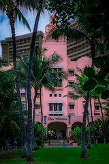 The Pink Hotel (Steven Strasser) Tags: pink hotel resort hawaii waikiki oahu honolulu architecture history beach historic tropics tropical