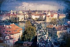 Vintage #Prague (Jim Nix / Nomadic Pursuits) Tags: jimnix nomadicpursuits travel prague czechrepublic europe citysc vintage topazstudio art texture sony sonya7ii