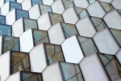 - Harpa - (Jacqueline ter Haar) Tags: facade reykjavik olafureliasson lookingup harpa structure sunny