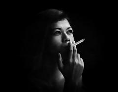 Portrait Ana (Angelo Daniel Prinz) Tags: analog analogisnotdead blackandwhitephotos analoglove blackwhite schwarzweiss shenhao analogfilm blackandwhiteart largeformat 4x5inch grossformat bw blackandwhite shenhaotziib einfarbig planfilm portrait 4x5 ortho porträt bigformat people personen marlboro