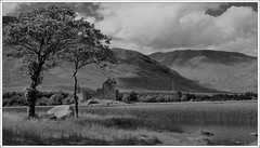 Kilchurn Castle (Ben.Allison36) Tags: kilchurn castle monochrome black white scotland loch awe