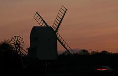 Great Chishill Windmill (scuba_dooba) Tags: great chishill windmill cambridgeshire uk england post mill night twilight dark