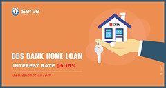 DBS-Bank-–-Interest-Rate-(-9.15) ISERVEFINancial (bhushanmankar765) Tags: home loan transfer dbs bank