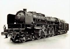Chemins de fer de l'État (France) - Class 241 4-8-2 steam locomotive Nr. 241-001 (Fives-Lille 4714 / 1931) (HISTORICAL RAILWAY IMAGES) Tags: steam locomotive train railways fiveslille 482 france état 241a65 241 est citédutrain mulhouse 241001
