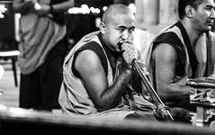 IMG_1611 (foretfantome) Tags: tibetan dance costume strasbourg tibet danse noir et blanc foret fantome guillermo gomez 5d mk 3 eglise church ethno bouddhisme