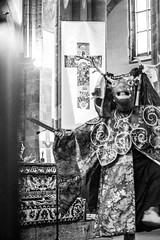 IMG_1632 (foretfantome) Tags: tibetan dance costume strasbourg tibet danse noir et blanc foret fantome guillermo gomez 5d mk 3 eglise church ethno bouddhisme