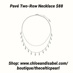 Today's Featured Item: Pavé Two-Row Necklace $88 Shop: https://www.chloeandisabel.com/boutique/thecelticpearl/products/N671CLSS/pav-two-row-necklace  We know a thing (or two) about layering. Introduce subtle dimension into your style with this two-row nec (thecelticpearl) Tags: love trending new christmas shop trend crystal buy lifetime featured product guarantee cubiczirconia chloeandisabel daily giftsforher trendy trends gifts rhodium shopping jewelry necklace holiday2k18 crystals pave boutique accessories thecelticpearl convertible holiday ootd candi online shiny style fashion