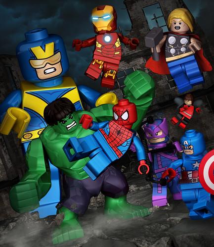 Hulk Spider-Main & the Avengers