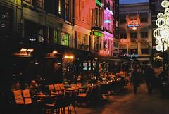 (lada.zhigulina) Tags: night architecture atmosphere amsterdam holland netherlands film 35mm travel
