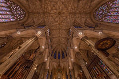 St. Patrick's Cathedral (CONTROTONO) Tags: awesome arch art architecture beautiful brass bubble building bulge longexposure ceiling controtono church cathedral temple interior altar organ drama exploration fresco gallery hall location marble mosaic paint painting palace perspective room school show stained stone stucco supershot texture tourist travel view wallpainting wideangle column chandelier construction angel antiquedoor