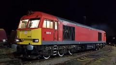 Christmas Pixies (explored) (DBS 60100) Tags: class60 60010 tug knottingleydepot dbcargo