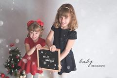 Xmas hermanas (Babyphotography_madrid) Tags: babyphotography babyphotographymadrid bebe embarazo luznatural reciennacido navidad xmas