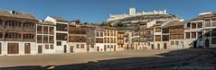 Peñafiel (Ignacio Ferre) Tags: peñafiel valladolid comunidaddecastillayleón españa spain panorama pueblo village ciudad city plaza castillo castle castillodepeñafiel nikon