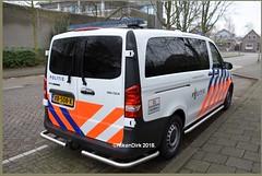 Dutch Police MB Vito. (NikonDirk) Tags: traffic politie nikondirk dutch nederland netherlands holland nikon cop cops hulpverlening mercedes benz vito 116 cdi xb508k