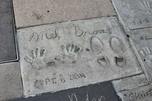 "Mel Brooks' Handprints at the TCL Chinese Theatre • <a style=""font-size:0.8em;"" href=""http://www.flickr.com/photos/28558260@N04/44890241455/"" target=""_blank"">View on Flickr</a>"