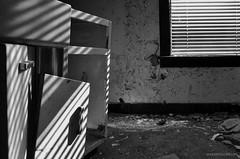 Schism (gregador) Tags: brownsville decayed abandoned urbex urbanexploring urbanexploration light shadows blinds blackandwhite monochrome