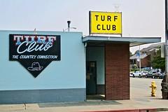 Turf Club, Crescent City, CA (Robby Virus) Tags: crescentcity california ca northcoast turf club dive bar tavern pub booze alcohol sign signage closed former