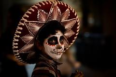 Día de Muertos (picazam) Tags: diademuertos dayofdead portrait makeup mexican springpreserve birazam picazam canon5dmkiii sombero facepainting vegasphotographer bangladeshiphotographer