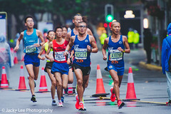 LD4_8841 (晴雨初霽) Tags: shanghai marathon race run sports photography photo nikon d4s dslr camera lens people china weekend november 2018 thousands city downtown town road street daytime rain staff