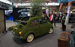 Vintage car could be green ! (NaPCo74) Tags: epoquauto epoqu auto vintage classic historic car show lyon france legen voiture ancienne canon eos 700d fiat 500 green club rhone alpes italia italian italie italy