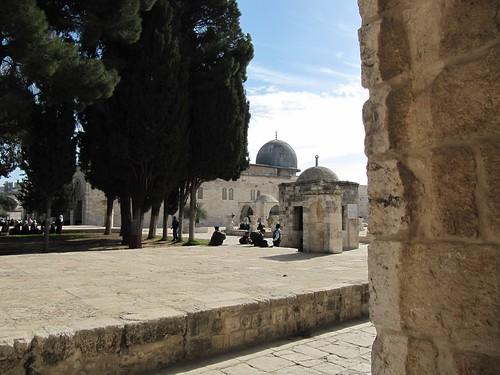 Al-Aqsa mosque, Jerusalem.