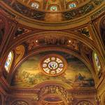 Our Lady of Victory Basilica ~ Above  Altar ~ Lackawanna ~ New York ~ Landmark thumbnail