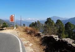 Hit the road.. (draskd) Tags: roadtomunsiyari munsiyari munsiari berinag thal landscape vista himalaya himalayan sonyhx9v sonycompact sony draskd mountain panchachuli panchachulirange roadsign
