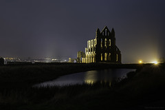 Remains (MarkWaidson) Tags: whitby abbey remains ruin night relic
