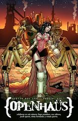 openhaus 03 cover (fixionauta) Tags: fixionauta renato quiroga openhaus comics comix anthology eva cabrera