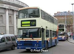 Dublin Bus RH118 (91D10118). (Fred Dean Jnr) Tags: april2005 dublin dublinbus busathacliath dublinbusbluecreamlivery leyland olympian alexander r collegegreendublin dublinbusroute121 rh118 91d10118 j644cev