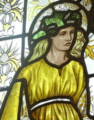[69061] Birmingham : BM&AG - Four Seasons (Budby) Tags: birmingham westmidlands artgallery museum stainedglass window preraphaelite