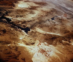Southwestern US, with Las Vegas, NV in foreground, June 27, 1965. Original from NASA. Digitally enhanced by rawpixel.