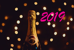 2019 text with champagne bottle (wuestenigel) Tags: champagne newyear text party celebration holiday 2019 happy light noperson keineperson champagner wine wein christmas weihnachten feier sparkling funkelnd alcohol alkohol drink getränk illuminated beleuchtet shining leuchtenden glass glas nightlife nachtleben bright hell dark dunkel romance romantik luxury luxus anniversary jahrestag vacation urlaub traditional traditionell