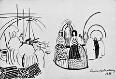 Projet Voyages Lointains (1936) - Sonia Delaunay (1885-1979) (pedrosimoes7) Tags: soniadelaunay caloustegulbenkianmuseum moderncollection lisbon portugal artgalleryandmuseums masterpiecemansion