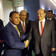 "Yemen President Abdrabuh Mansour Hadi Mansour • <a style=""font-size:0.8em;"" href=""http://www.flickr.com/photos/146657603@N04/45603194925/"" target=""_blank"">View on Flickr</a>"