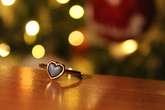 Keep your heart full of love! (Argyro Poursanidou) Tags: heart jewelry ring love still life bokeh lights macro