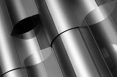 waves (I) [EXPLORE 2018-11-02] (pix-4-2-day) Tags: waves fassade wellen metall metal perforated plate lochblech facade bristol university architecture architektur
