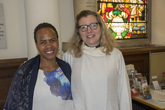 DSC_2694 John Wesley's Chapel City Road London with Dee from Botswana and the Reverend Jennifer Smith (photographer695) Tags: john wesley's chapel city road london with dee from botswana reverend jennifer smith