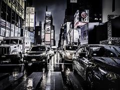 Urban Jungle (C@mera M@n) Tags: city manhattan ny nyc newyork newyorkcity newyorkcityphotography newyorkphotography nightphotography place places rain timessquare urban cars outdoors traffic