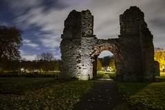 Dudley_9X7A8808 (timbertree9) Tags: colour blackandwhite dudley dudleycouncil westmidlands priory sky skyatnight architecture historic ruins eng unitedkingdom central hdr dark darksky stars clouds lighting shadows stone