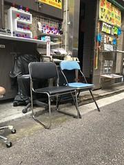 IMG_3131 (MikeSpiteri) Tags: mongkok unmodified chair storefront