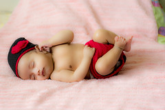 Like a doll (Bhargav Kesavan) Tags: baby infant kid babyphotography infantphotography bornbaby photography closeup portrait 50mm nikon