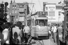 Close to the action (railfan3) Tags: amsterdamsetrams amsterdamtrams leidsestraat trams1971 gvb gemeentevervoersbedrijf gvb556 amsterdam amsterdambinnenstad derailment derailed ontspoordetrams entgleist tramrecoveryoperation salvageoperation 1971 accidentscene ongevallen ontsporing ontsporingtram beijnestrams enkelgelede gelenkwagen 551575 1ggeledewagen amsterdamse amsterdams rubberneckers ramptoeristen trams trolleys tramcars tram triebwagen tramwagens trammaterieel trammetjes streetcars strassenbahnwagen strasenbahn streetscene straatbeeld straatplaat incidents tramaccidents amsterdamsetram pechonderweg