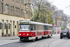 BRN_1628_201811 (Tram Photos) Tags: ckd tatra t3p brno brünn strasenbahn tram tramway tramvaj tramwaj mhd šalina dopravnípodnikměstabrna dpmb t3