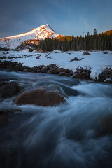 Blues (kephart_kyle) Tags: 2017 cold december mthood oregon park portland river snow sunset wihite winter