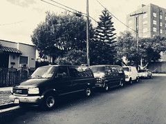 (algaimaging) Tags: memories old cars repetition pattern filtered iphone iphonephotography amateurphotography street