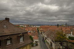 Bamberg from Rose Garden (rschnaible) Tags: bamberg germany europe outdoor sightseeing building architecture neue residence view cityscape landscape