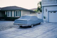 Santa Clara (bior) Tags: ektachrome100 kodakektachrome100 ektachrome newektachrome ektachromee100 kodakektachromee100 street driveway car minoltaxd5 xd5 minolta santaclara